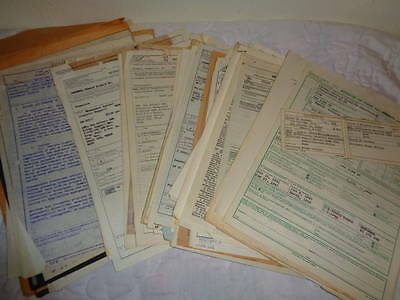1955-1961 Federal Employment Civil Service Personal Ephemera Lot - 117 Pages