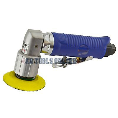"2"" 50mm Air Angle Sander Grinder Polisher With Velcro Pad Sanding Pad By Bergen"