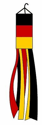 Germany Windsock Super Shiny Polyester 60 In Outdoor Garden Wind Sock Decoration