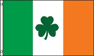 3x5 Ireland Flag Irish Shamrock Banner Clover Pennant St Patricks Day Celtic