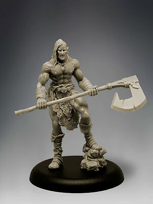 SOLRAK THE SAVAGE 35mm Scale RESIN Black Sun Miniatures