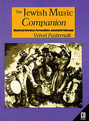 The Jewish Music Companion History Artists Annotated Folksongs Appendix Book CD