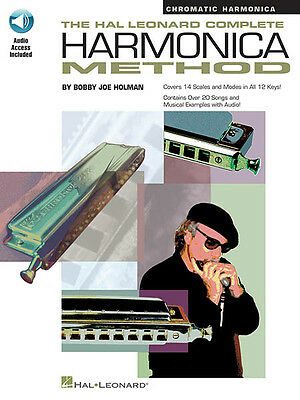 Hal Leonard Harmonica Method Chromatic Learn to Play Beginner Book Online Audio