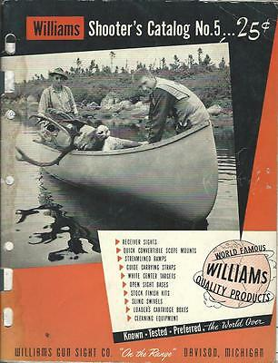 Sporting Goods Catalog - Williams - Shooter's Catalog 5 - 1950's Hunting (SP03)