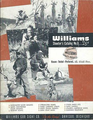 Sporting Goods Catalog - Williams - Shooter's Catalog 6 - 1950's Hunting (SP04)