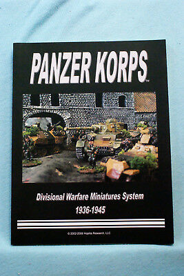 Panzer Korps Divisional Rules (The Core System)