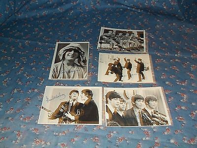Set Five Topps Beatles Series Two Cards  Black & White