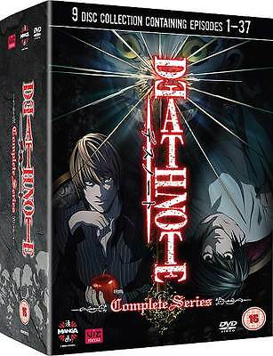 Death Note - The Complete Series [NEW DVD]