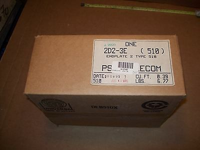 New Psi Telco 2D2-3E Type 510 Telecommunication Cable Endplate P345