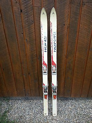 """ANTIQUE Wooden 57"""" Long  Skis Great for Decoration"""