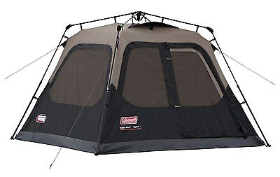 BRAND NEW Coleman Instant Set-Up 4-Person Tent, 8' x 7' Camping 1-minute set up