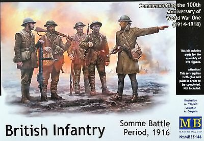 MASTER BOX™ 35146 WWI British Infantry Somme Battle Period 1916 in 1:35