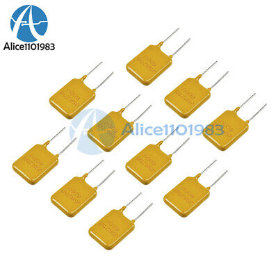 10PCS 0.65A 650mA 250V PolySwitch Resettable Fuse Poly Switch Fuses Polyfuse