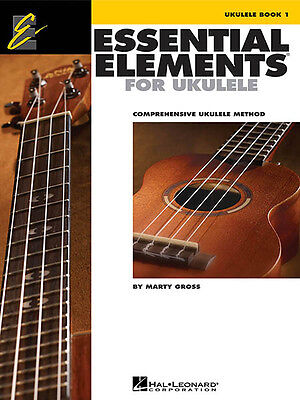 Essential Elements for Ukulele Book 1 Learn How to Play Beginner Uke Lessons NEW