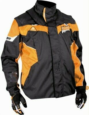Jacke Cross Enduro SHOT FLEXOR schwarz-orange Gr. 48-58