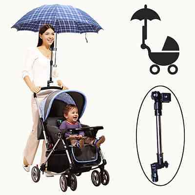 Umbrella Rack Holder For Baby Stroller Pram Carriage Pushchair Adjustable
