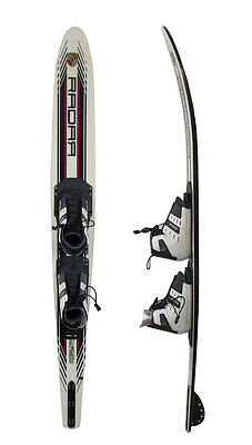 Radar Theory 67 Inch Slalom Water Ski with Prime Front/Rear Boots Size 5-8 NEW