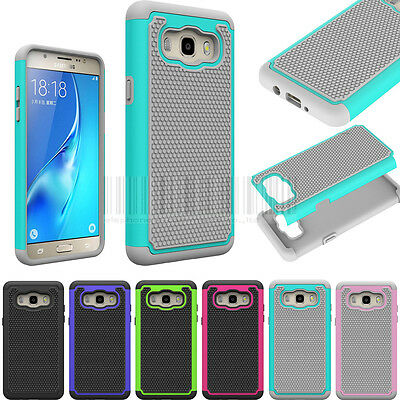 Hybrid Hard Armor Protective Case Shockproof Cover For Samsung Galaxy J5 2016