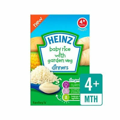 Heinz Savoury Cereals Baby Rice with Garden Vegetables 125g