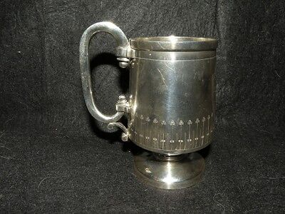 ANTIQUE BALL BLACK & CO STERLING WENDT CHILD'S CUP aesthetic arts crafts