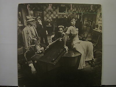Chic - Risque - with inner-US Press- Vinyl Lp- Free UK Post