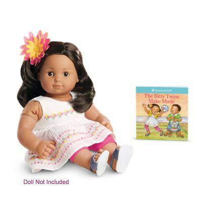 """American Girl BT BITTY TWIN SUNSHINE PLAY OUTFIT for 15"""" Baby Dolls Dress NEW"""