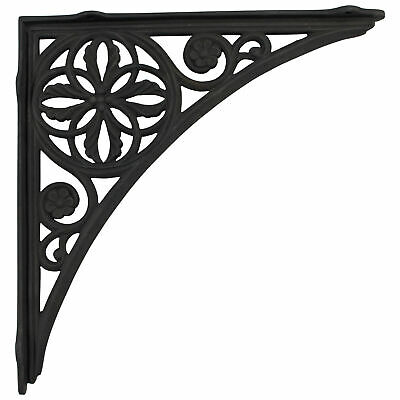 BIG Wall Bracket for shelves In Cast Iron Victorian Vintage style Design