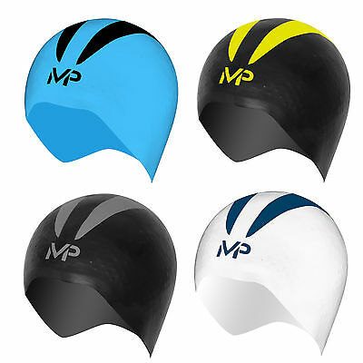 New! Aqua Sphere XO Michael Phelps X-O SWIM CAP 3D SHAPE in 3 Sizes & 4 Colours!