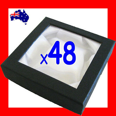Minor Defect 48X Economy Bangle Bracelet Gift Box-Window-9x9cm | AUSSIE Seller