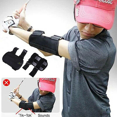 Golf Golfers Swing Training Straight Practice Elbow Brace Corrector Support Arc