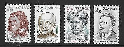 FRANCE 1977 Red Cross Fund  set of 4 vf MINT never hinged SG 2203 - 2006