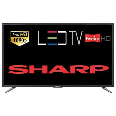 "Sharp LC-43CFF5111K 43"" LED TV Full HD 1080p Freeview HD Multiple Connectivity"