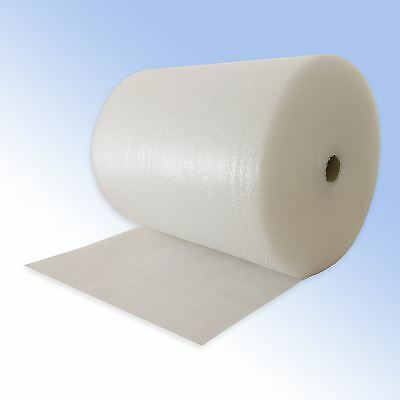 Genuine Jiffy Bubble Wrap 3 rolls of 100 metres long x 300 mm wide Small Bubble