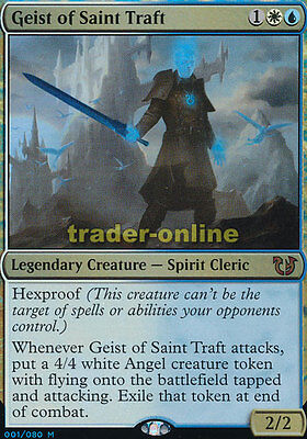 Geist of Saint Traft (Foil) Blessed vs. Cursed Magic