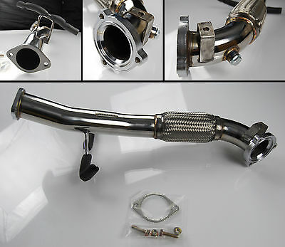 "Stainless Steel Exhaust Downpipe Down Pipe 3"" For Ford Focus St 2.5 St225"