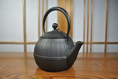 New Japanese Nanbu Tekki Iron Tea Kettle Tetsubin teapot CHIGUSA made in japan