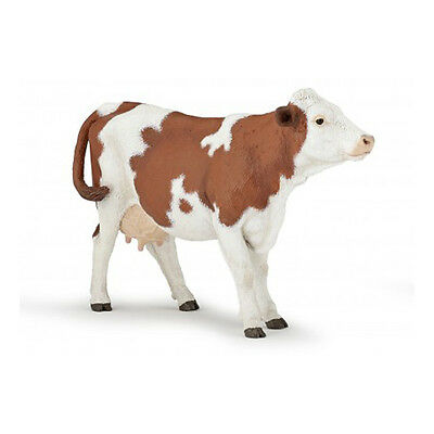 Papo 51165 Montbeliarde Dairy Cow Animal Figurine Model Toy Gift 2016 - NIP