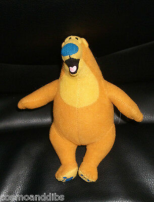 Bear In The Big Blue House Small Promotional Happy Meal Bear