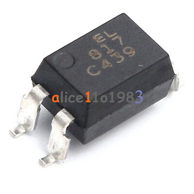 100PCS PC817 PC817C PC817/C PC817 SHARP SOP 4 Precise SMD Optocoupler