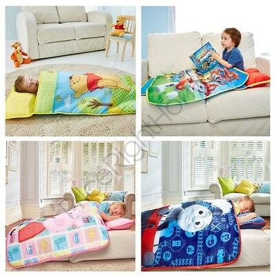 Character Cosy Wrap Nap Bed - Toddler Bed Paw Patrol Peppa Pig Winnie Thomas New