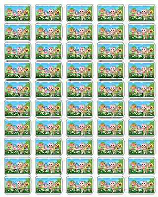 """50 Lalaloopsy Envelope Seals / Labels / Stickers, 1"""" by 1.5"""""""