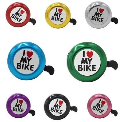 1pc New Lovely Handlebar Bicycle Cycling Bell Horn Ring Sound Safety Bike Alarm
