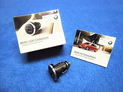 BMW F20 F21 1 Series USB Charger NEW Adapter Lighter New 65412166144 2166411