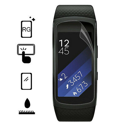New Screen Protector Film For Samsung Gear Fit2 Smart Bracelet Band Wristband FT