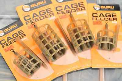 Guru Coarse/Match/Carp Fishing Commercial Cage Feeder - All Sizes