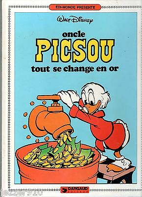 Oncle Picsou ¤ Tout Se Change En Or ¤ Eo 1982 Dargaud