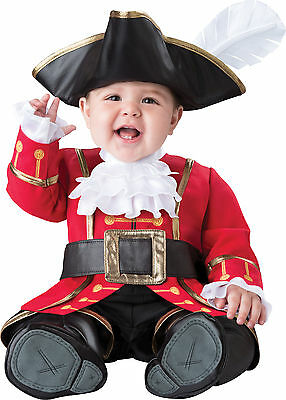 Infant Toddler Pirate Captain Cuteness Costume