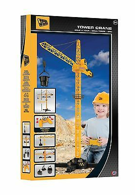 JCB RC Remote Control Tower Crane Boys Construction Toy Large New