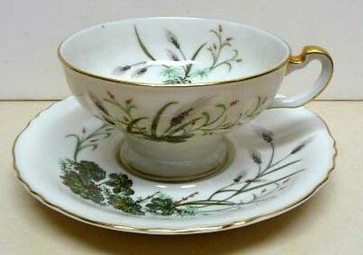 Rare-Theodore Haviland-New York-Weathersfield-Saucer&footed Cup-Made In America