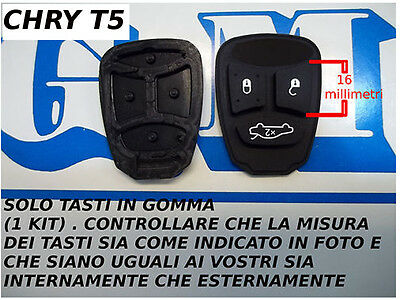 Only Buttons Rubber For Remote Control Dodge Jeep Grand Cherokee Chrysler